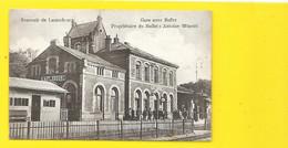 LAUTERBOURG La Gare Avec Buffet D'Antoine Winstel () Bas Rhin (67) - Lauterbourg