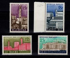 YV 1152 à 1155 N** Complete Villes Reconstruites Cote 5 Euros - Neufs