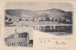 TREIS A.d. MOSEL - TREIS KARDEN - COCHEM - ZELL - RHEINLAND-PFALZ - DEUTSCHLAND -  MEHRBILDER ANSICHTKARTE 1900... - Cochem