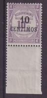 MAROC : T N° 7 ** . BDF . TB . 1909/10 .  ( CATALOGUE YVERT ) . - Portomarken