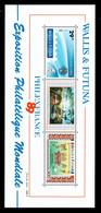 Walis Et Futuna - YV BF 4 N** Luxe , Philexfrance 1989 , Cote 29 Euros - Blocks & Sheetlets