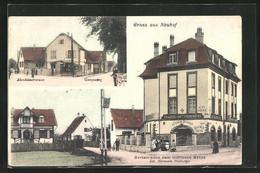 CPA Strassburg-Neuhof, Restaurant Zum Goldenen Kreuz, Altenheimerstrasssse - Zonder Classificatie