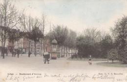 LIEGE - LIÈGE - BELGIQUE - PEU COURANTE ANIMEE CPA DE 1905 - CLICHE PEU COURANT. - Liege