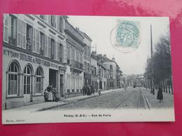 POISSY    Rue De Paris , Distillerie Fanchon - Poissy