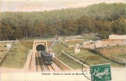CHAVILLE Tunnel De Meudon Sortie D'un Train - Chaville