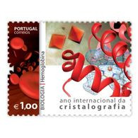 Portugal ** & International Year Of Crystallography, Biology, Hemoglobin 2014 (7571) - Other