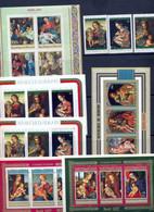 Restant Burundi Blokken Kerstzegels ** MNH Postgaaf PRACHTIG - Sammlungen