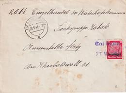 ALSACE-LORRAINE 1941 LETTRE AVEC CACHET   HAGENDINGEN/HAGONDANGE - Alsace Lorraine