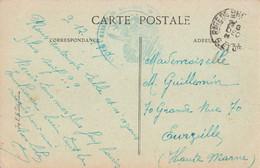 Cachet Militaire Guerre 1914 1918 Station Magasin Bretigny Seine Et Oise Essonne - Guerra De 1914-18