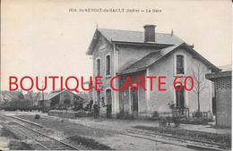 36 - SAINT BENOIT DU SAULT - LA GARE - Other Municipalities