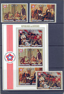 Nrs. PA429/34 + BL92 ** MNH Postgaaf PRACHTIG - Sammlungen