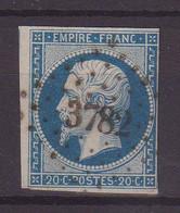"""FRANCE : PC 3782 . """" CELLES SUR PLAINE """" . (82) . N° 14 .B . ( CATALOGUE MATHIEU ) . - 1849-1876: Période Classique"""