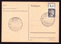 "DR Postkarte DR GÖTZIS - 20.4.42 - Mi.781 SoSt. ""Vorarlberg Am Fuße Der Hohen Kugel - 1649 M"" - Covers & Documents"