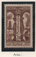 Sites Et Monuments - Cloître De St-Trophime à Arles 1935 - 3 F 50 Brun - Neuf - Pte Trace Probable De Charnière - Ungebraucht
