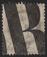 France N°52, Oblitération Typographique Des Journaux, Cérès 4c Gris COTE 150 € - 1871-1875 Ceres