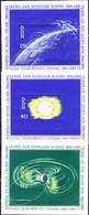 DDR GDR RDA - Jahr Der Ruhigen Sonne (MiNr: Block 20/22) 1964 - Postfrisch MNH - Blocks & Sheetlets