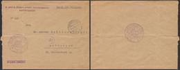 "Guerre 14-18 - Lettre En Feldpost ""Dienstsache"" Osterr. - Ungar Kommissariat Antwerpen (1918) > Antwerpen - Duits Leger"