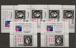 France 1999 : 6 Exemplaires N°3211 De Carnet + Vignette, Timbres Neufs**. - Colecciones Completas