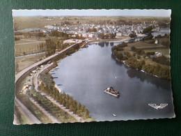 CHALONNES SUR LOIRE  PENICHE CAMPING DRAGUEUSE VUE AERIENNE - Chalonnes Sur Loire