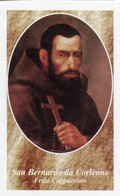 Palermo - Santino SAN BERNARDO DA CORLEONE Frate Cappuccino Dipindo XVII Sec. - PERFETTO D26E - Religione & Esoterismo