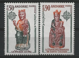 ANDORRE N° 237 + 238 Cote 55 €. Neufs ** (MNH). Europa. TB - Unused Stamps
