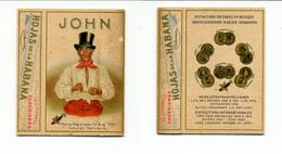 Boîte De 10 Cigares JOHN (havanes - Cuba) / Ancienne Et Neuve / Années 30 - Cigar Cases