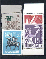 R2-18 Yougoslavie N° 676 à 679 ** A Saisir  !!! - Nuevos