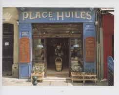 Aix En Provence : Place Aux Huiles  (épicerie Fine Huiles De Moulin, Spécialités Méditerranée) Boutique Magasin - Aix En Provence