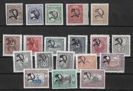 Ukraine 19 Timbres Avec Surcharge Locale Et Provisoire (faucille/marteau) De 1923 Neufs ** MNH. TB. A Saisir! - Ukraine