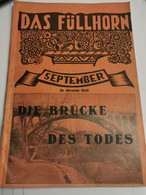 Livre, Monatskalender Auf Das Jahr 1930. September - Non Classificati