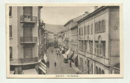 GORIZIA - VIA CARDUCCI 1938   VIAGGIATA  FP - Gorizia