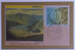 Annullo Primo Giorno - Italia Repubblica 2001 - Industria Serica Italiana - Non Classés