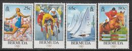 BERMUDES - N°706/9 ** (1996) J.O D'été à Atlanta - Bermuda