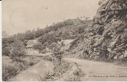 Spontin / Yvoir - 1907 - Les Rochers Et Les Villas à Spontin - *609* - Yvoir