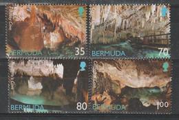 BERMUDES - N°828/31 ** (2002) Grottes - Bermuda