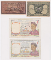 INDOCHINA-VIETNAM, Lot Of 6 Banknotes - Indochina