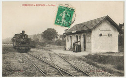 CHERENCE - Le- ROUSSEL. - La Gare - Otros Municipios
