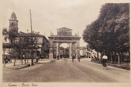Cartolina - Crema - Porta Serio - 1943 - Cremona