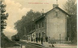 PONT St PIERRE - LA GARE (1) - - Otros Municipios