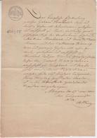 Preussen - Mayen 17. MAI 1821 Stempelpapier 1 Gr. 7 PF. Ehebescheinigung - Zonder Classificatie