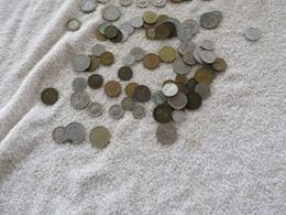 BOITE DE PIECES RETOUR DE VOYAGE ET ANCIENNE - Mezclas - Monedas