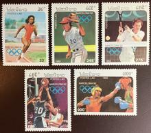 Laos 1992 Olympic Games MNH - Laos