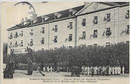 39, Jura, LONS-le-SAUNIER, Quartier  Michel,( 44é Régiment D'Infanterie) Répétition De La Musique Dans  Scan Recto-Verso - Lons Le Saunier