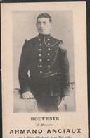 ABL, Armand Anciaux , Né à Ways Le 10 Mai 1866 , Tombé Au Champ D'honneur à Liège - Obituary Notices