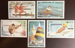 Laos 1991 Olympic Games MNH - Laos