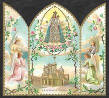 Santino/holycard: SS. VERGINE DEL ROSARIO DI FONTANELLATO - E - Apribile, Antine - Religione & Esoterismo
