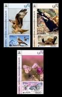 Armenia (Nagorno-Karabakh) 2021 Mih. 231/33 Europa. Fauna. National Endangered Wildlife (with Labels) MNH ** - Armenia