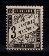 Taxe YV 12 N** Luxe - 1859-1955 Postfris