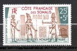COTE FRANCAISE DES SOMALIS / PA N° 37 NEUF * * - Unused Stamps