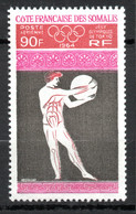 COTE FRANCAISE DES SOMALIS / PA N° 41 NEUF * * - Unused Stamps